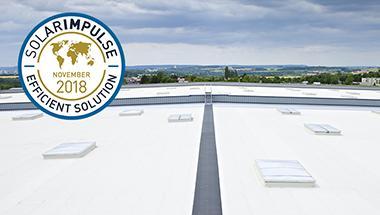 """La solution d'étanchéité Cool Roof de SOPREMA labellisée """"Efficient solution"""" !"""