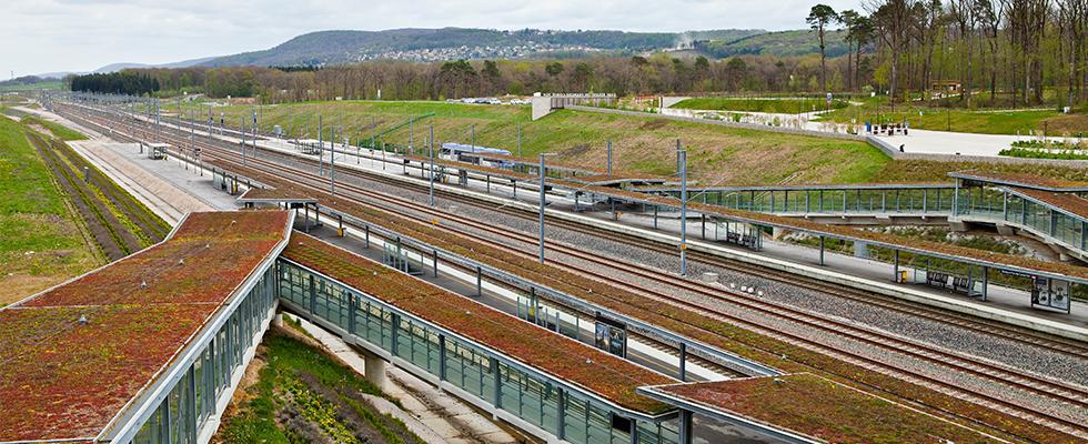 Gare LGV Rhin-Rhône