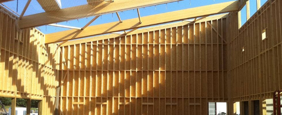 Isolation fibre de bois en façade avec Isolair®