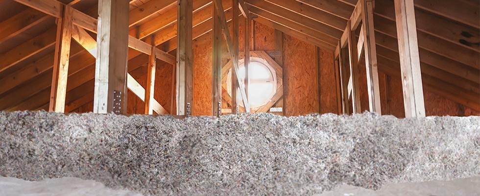 La ouate de cellulose : la garantie d'une isolation 100 % reconnue